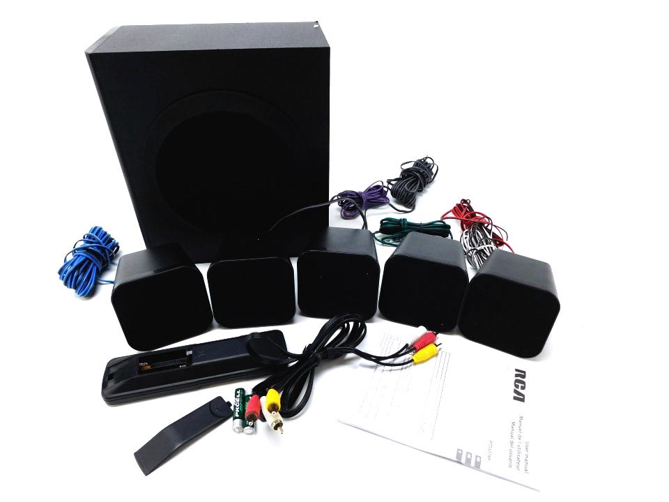rca 200w home theater system with dvd manual
