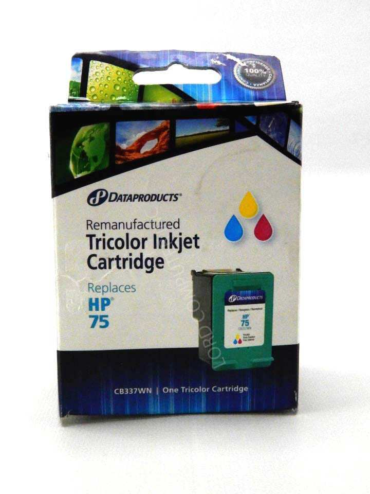 New Dataproducts  Replacement HP 75 Tri Color Printer Inkjet Cartridge